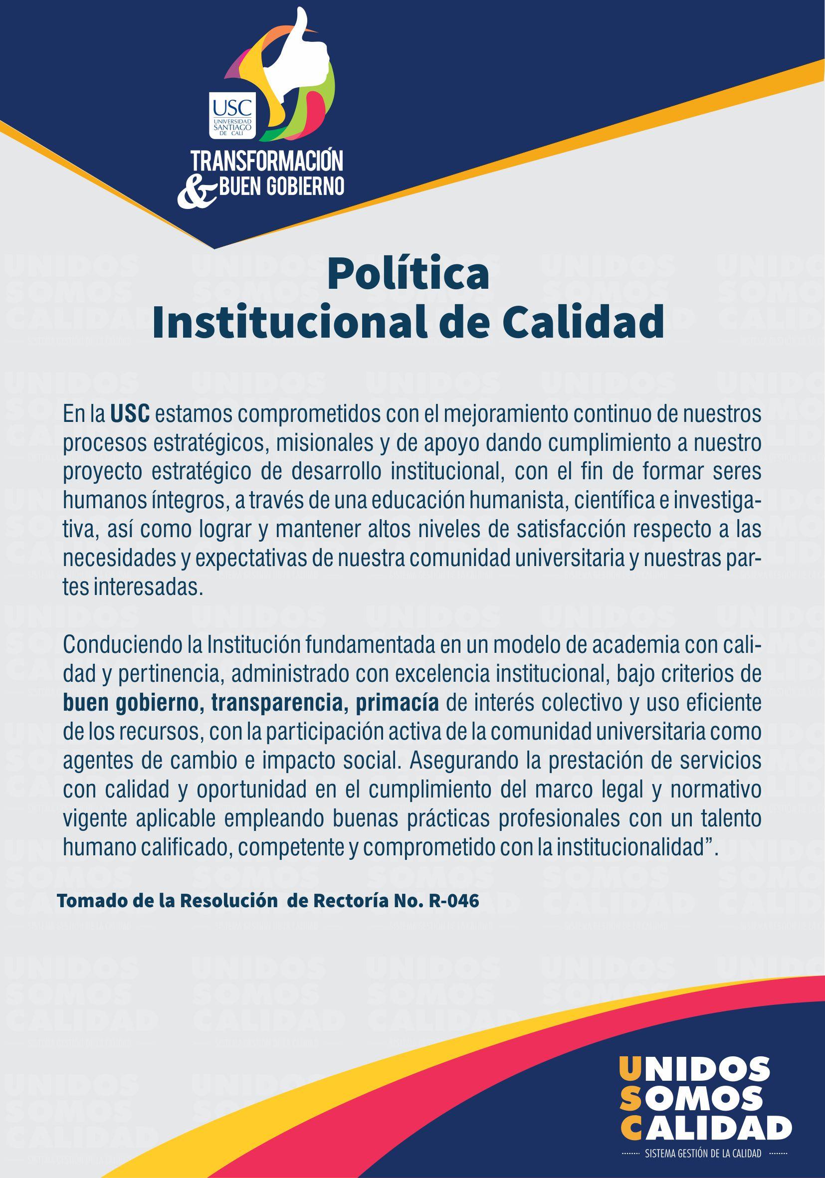 POLITICA DE CALIDAD1