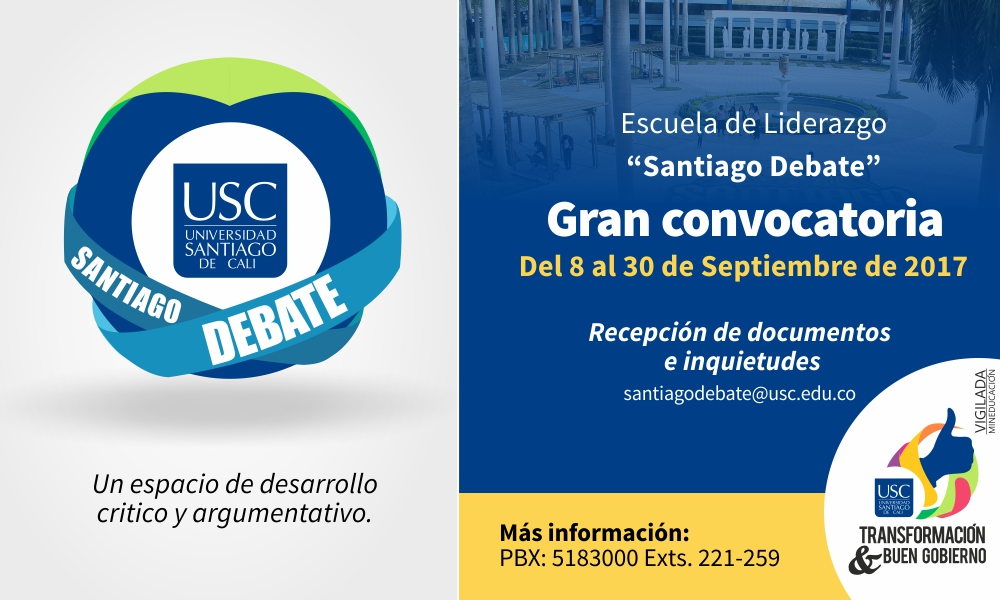 Convocatoria Grupo DebateUSC