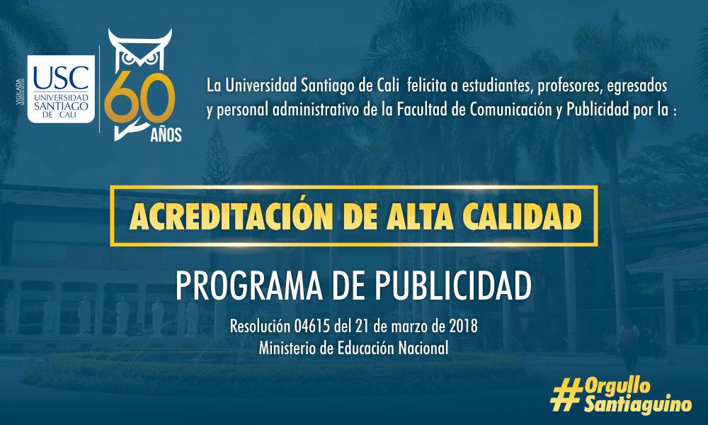 USCcomunicacionacreditadoaltacalidad2018