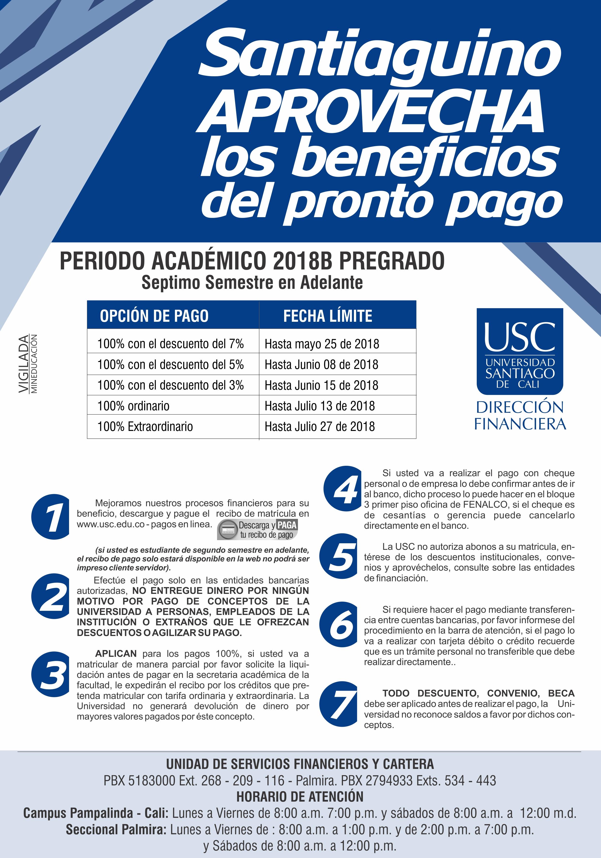 AFICHE PRONTO PAGO 2018B 1