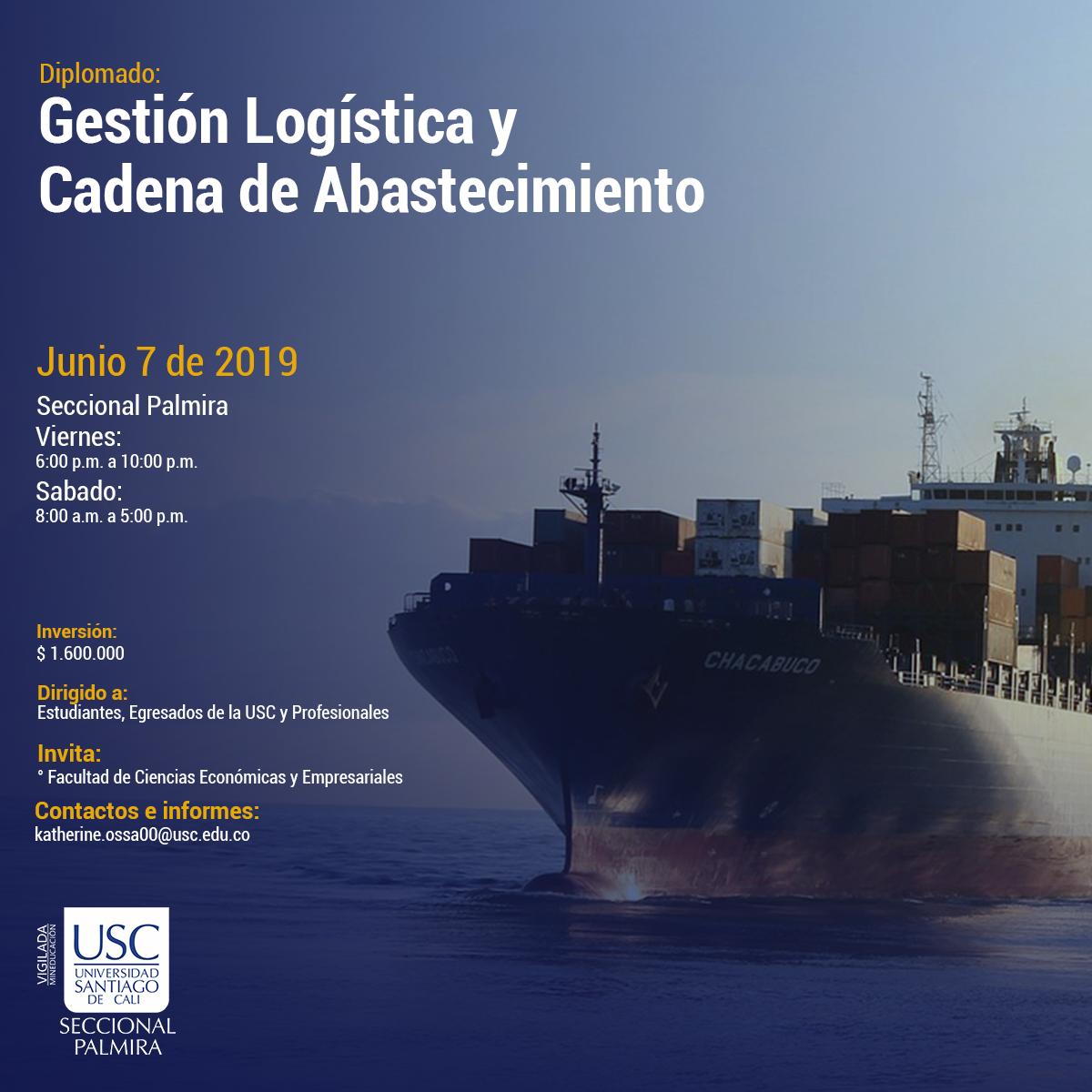 Diplomado Gestion Logistica Y Cadenas De Abastecimiento