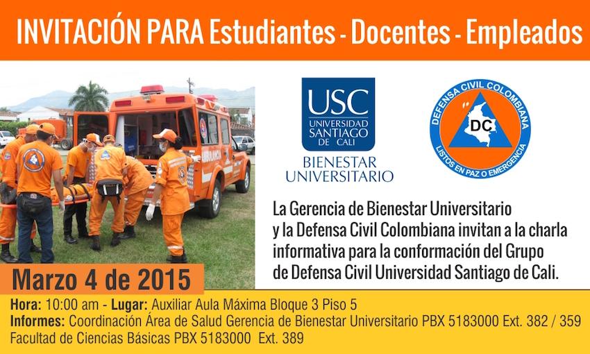 Invitación Defensa Civil