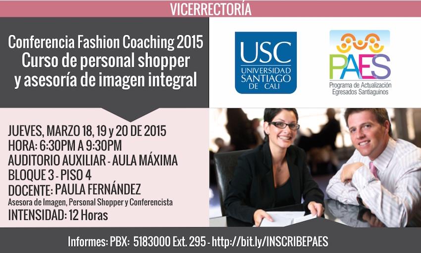 Conferencia Fashion Coaching 2015
