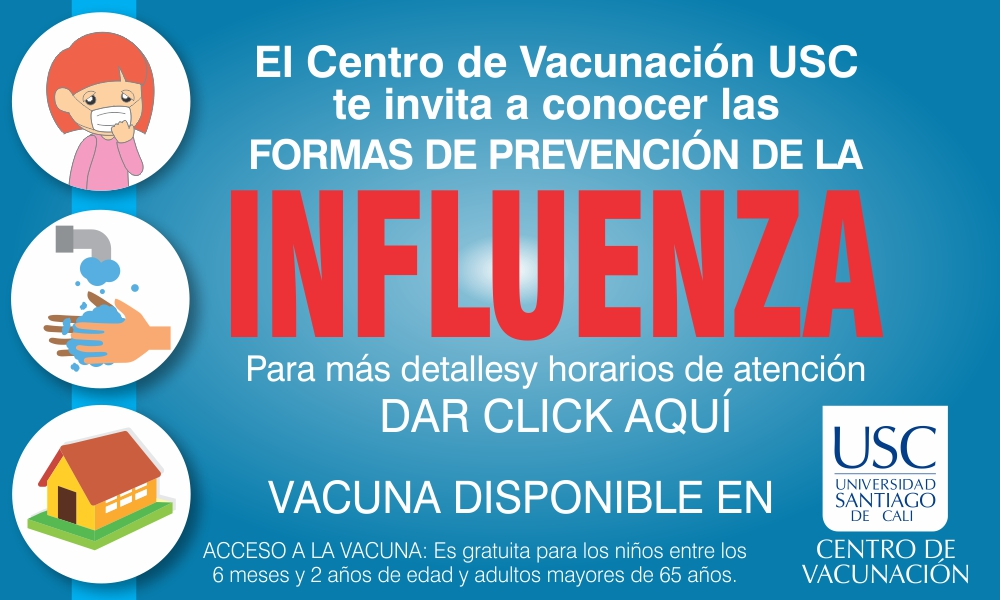 BANNER INFLUENZA CENTRO DE VACUNACION