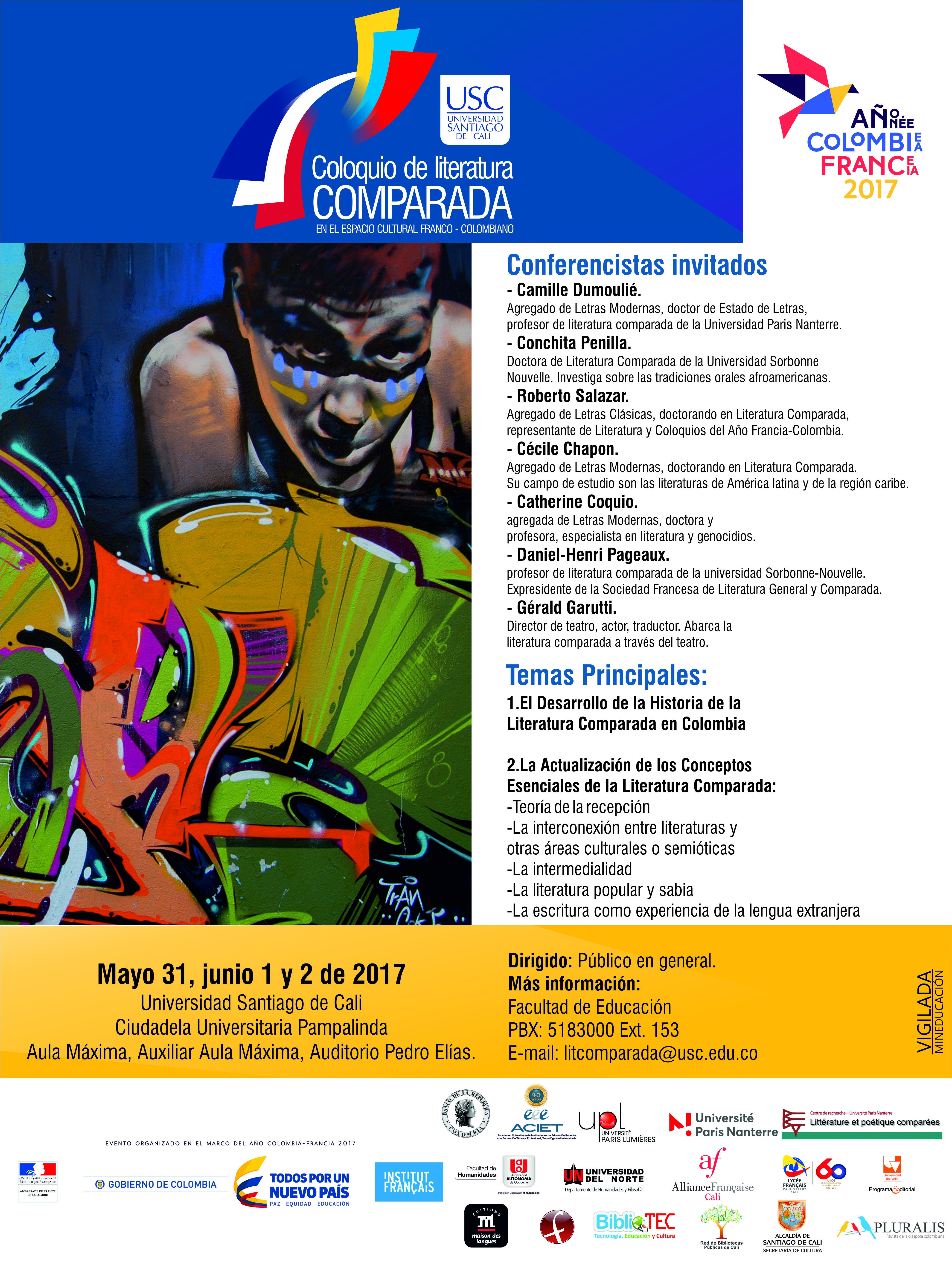Educacion Coloquio Afiche