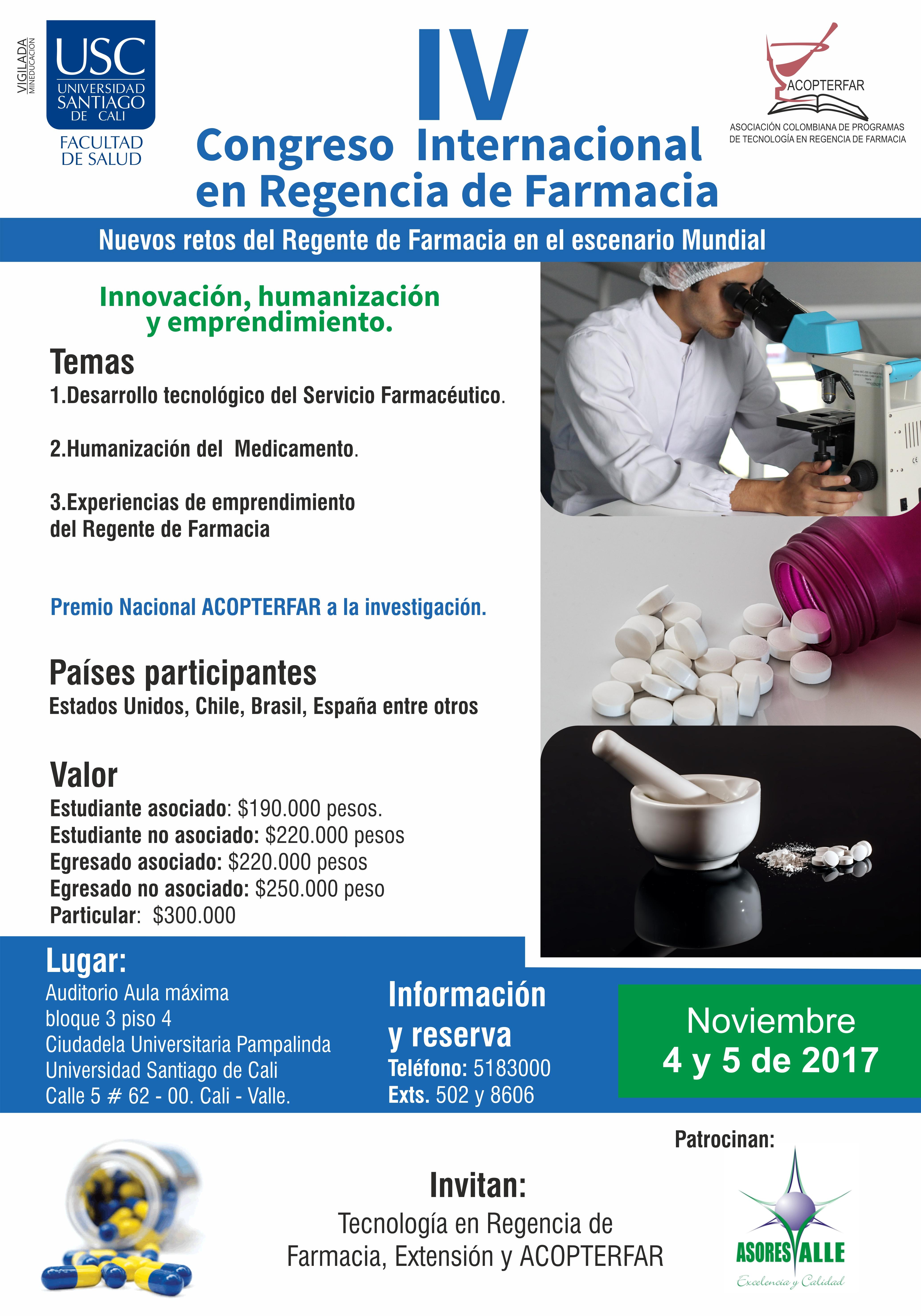 AfichecongresoregenciafarmaciaUSC