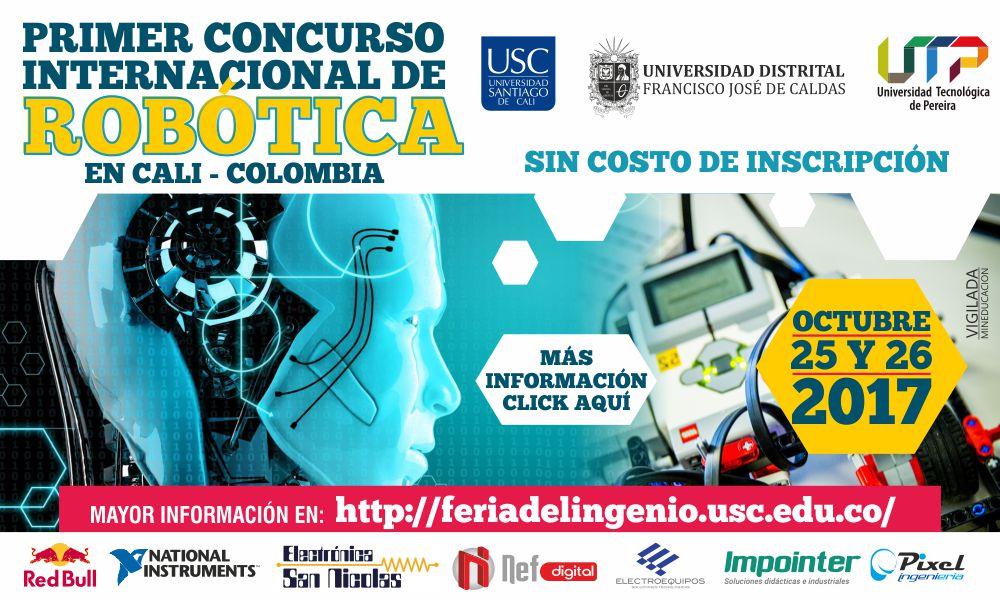 BANNER CONCURSO INTERNACIONAL DE ROBTICA LOGOS