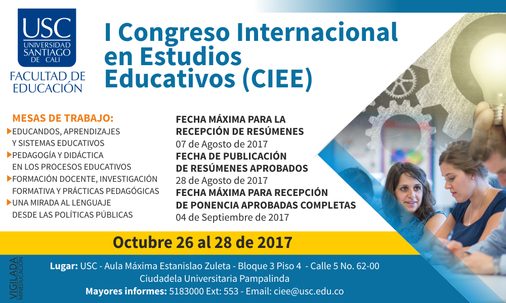 BANNER CONGRESO INTERNACIONAL ESTUDIOS EDUCATIVOS