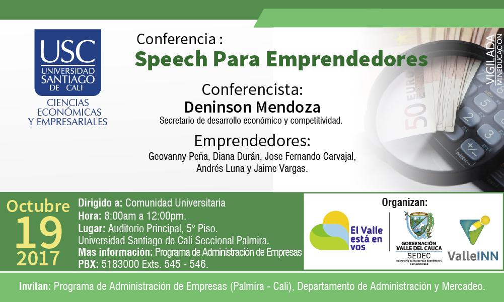 Speech Para Emprendedores1 Facultad De CEE1 01