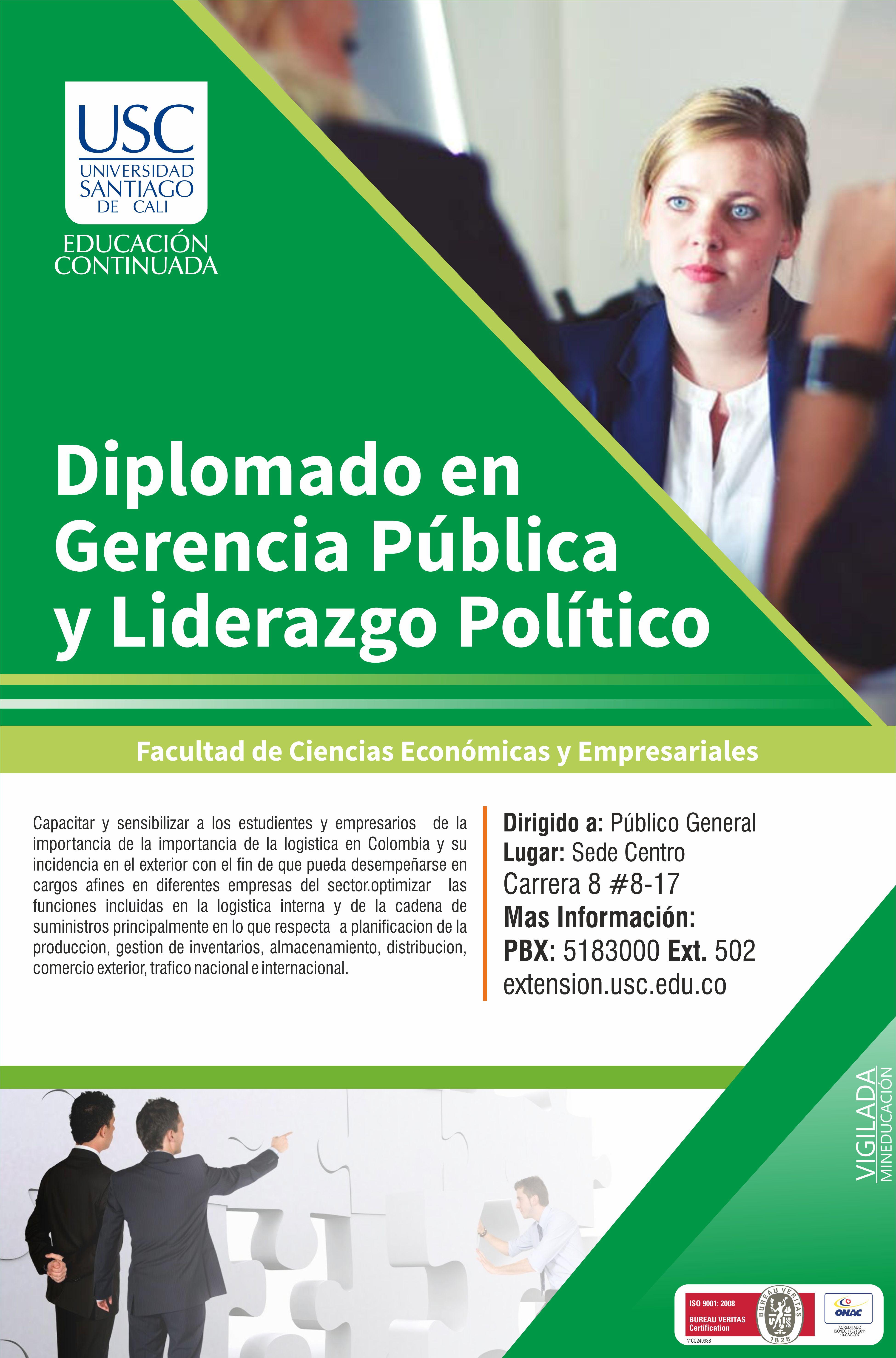 Afiche Liderazgo Politico