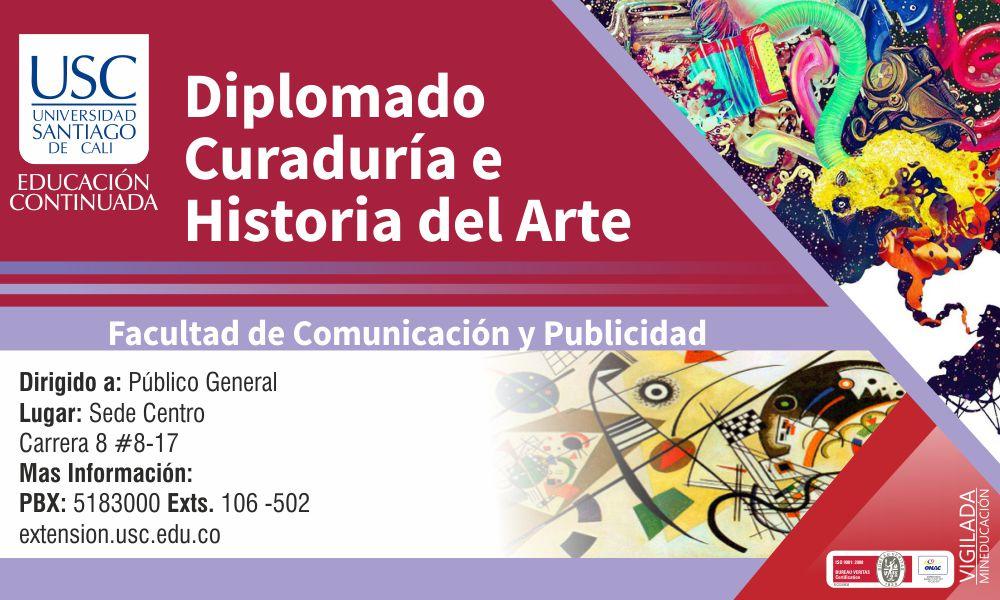 Banner De Curaduria Y Arte