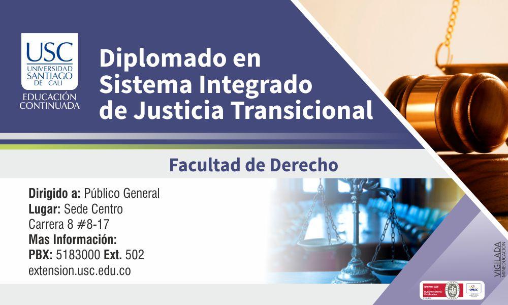 Diplomado Banner De Justicia Transcicional