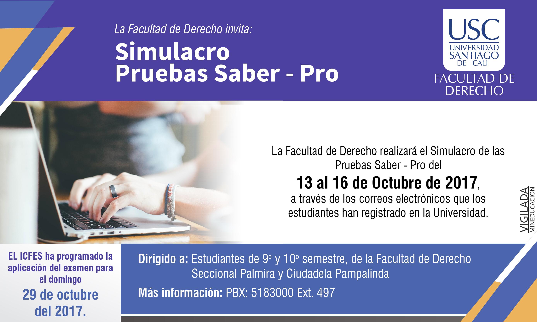 Facultad De Derecho Simulacro Pruebas Saber 01 2