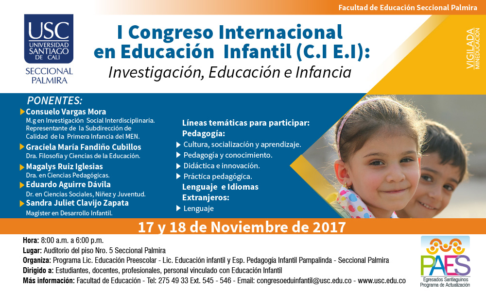 Banner I Congreso Internacional En Educacin Infantil 01 01 01 01