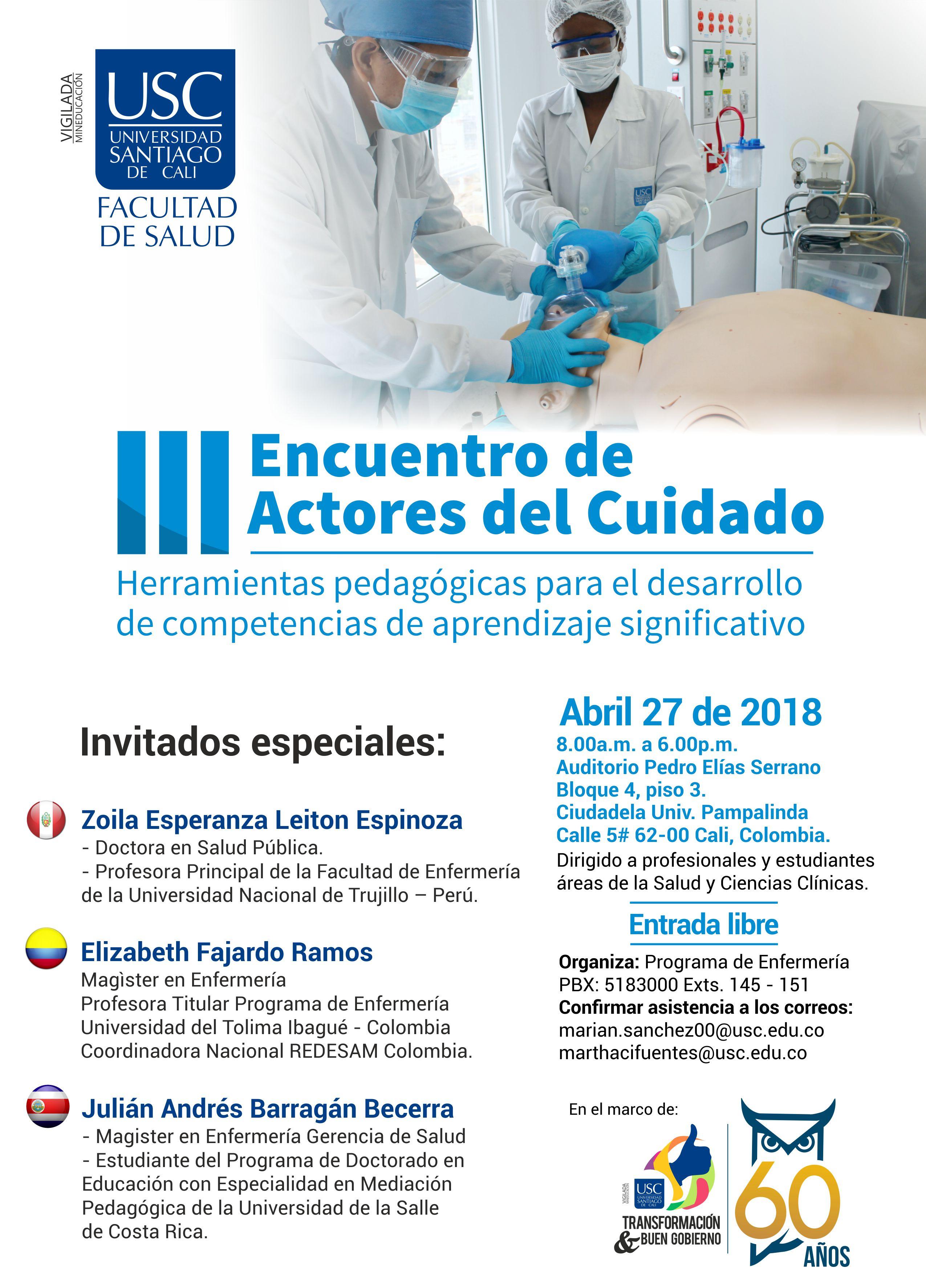 III Encuentro Interno Actores Del Cuidado