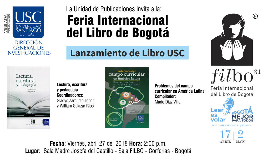 LANZAMIENTO DE LIBRO Educacion
