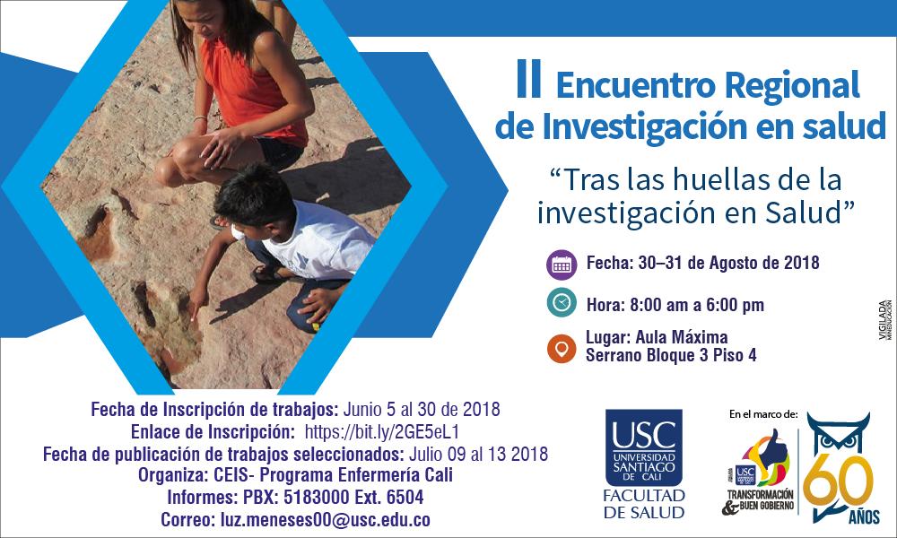 II Encuentro Regional De Investigacin En Salud Tras Las Huellas De La Investigacin En Salud  01 01 01