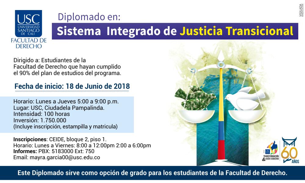 Diplomado En Justicia Transicional