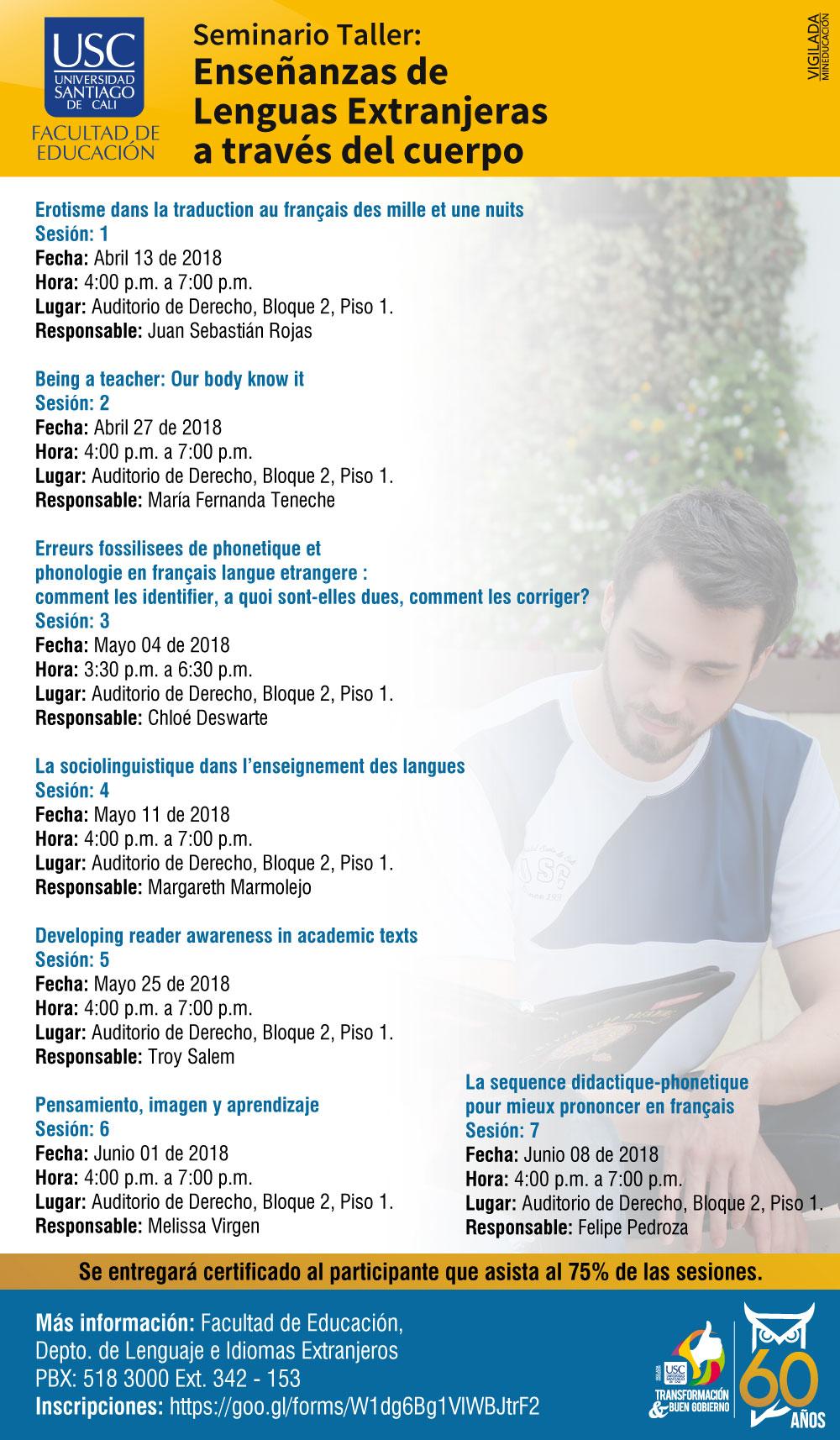 SeminarioTaller Enseanza De Lenguas ExtranjerasUSC