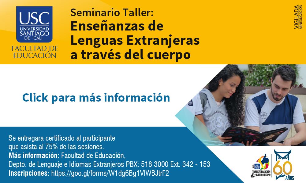 Seminario Taller   Enseanza De Lenguas Extranjeras A Travs Del Cuerpo 01
