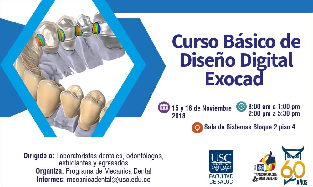 Banner Curso Exocad   Tecnologa En Mecnica Dental USC
