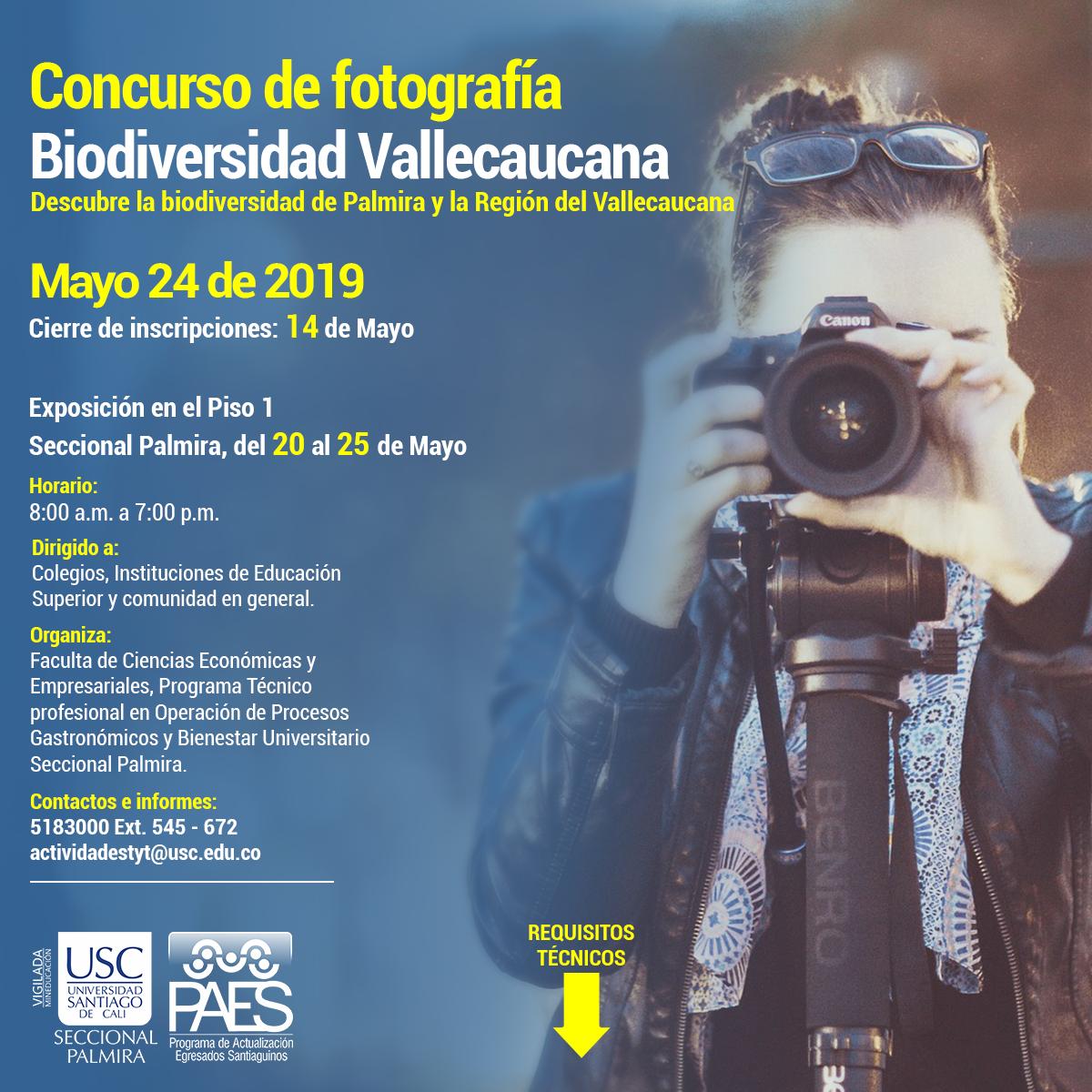 1CURSO DE FOTOGRAFIA   BIODIVERSIDAD VALLECAUCANA