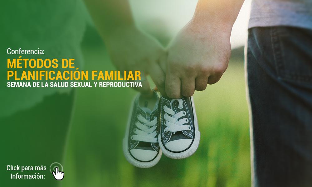 SEMANA DE LA SALUD SEXUAL Y REPRODUCTIVA Metodos De Planificacin Familiar   Para Web