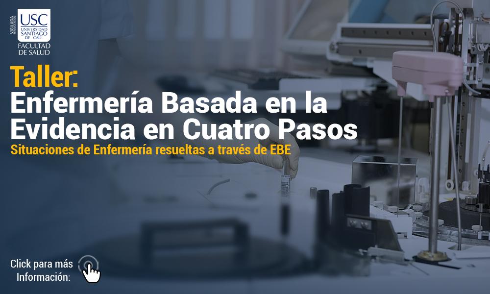 TALLER Enfermera Basada En La Evidencia En Cuatro Pasos   Para Web Informacion