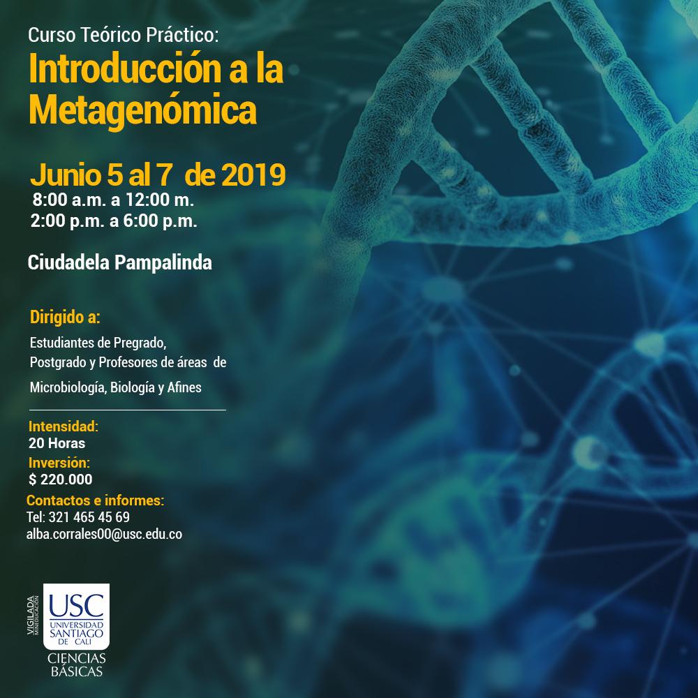 Conferencia Introduiccin A La Metagenomica 1