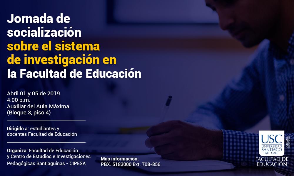 Jornadadesocializacioninvestigacion Educacion Web