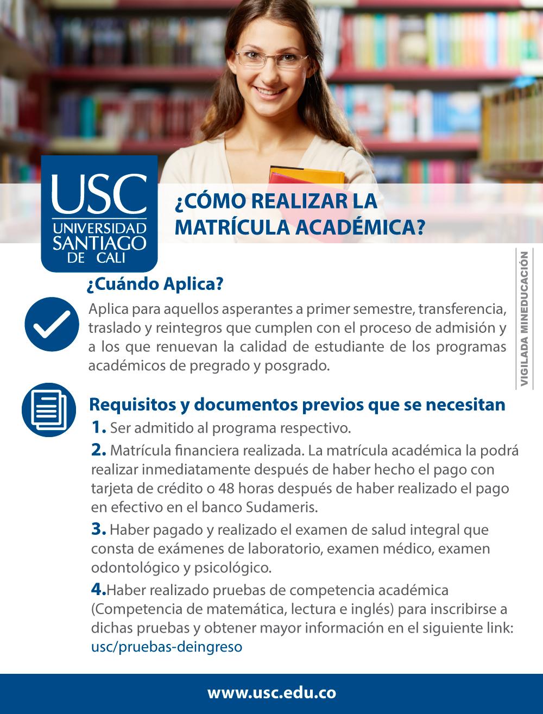 Matricula Académica 1