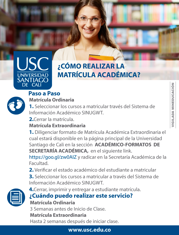 Matricula Académica 2