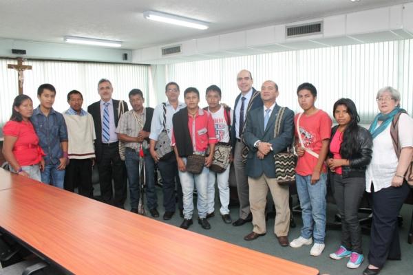 Comunidad Nasa Yuwe y USC estrechan lazos