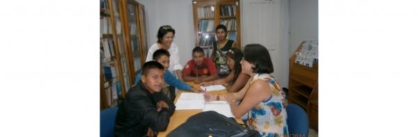 ACOMPAÑAMIENTO A ESTUDIANTES DE COMUNIDADES INDÍGENAS