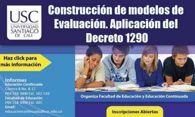 CONSTRUCCIÓN DE MODELOS DE EVALUACIÓN - APLICACIÓN DEL DECRETO 1290