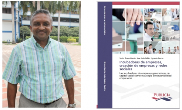 Editorial alemana publica libro de profesor santiaguino