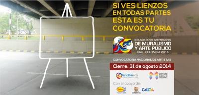 II BIENAL INTERNACIONAL DE MURALISMO Y ARTE PÚBLICO COLOMBIA