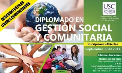 DIPLOMADO EN GESTIÓN SOCIAL Y COMUNITARIA