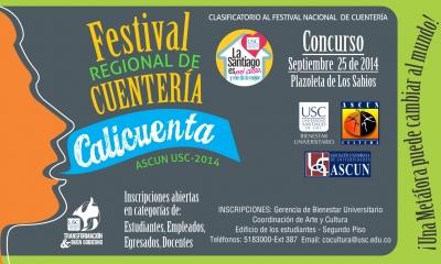 FESTIVAL REGIONAL DE CUENTERÍA CALICUENTA