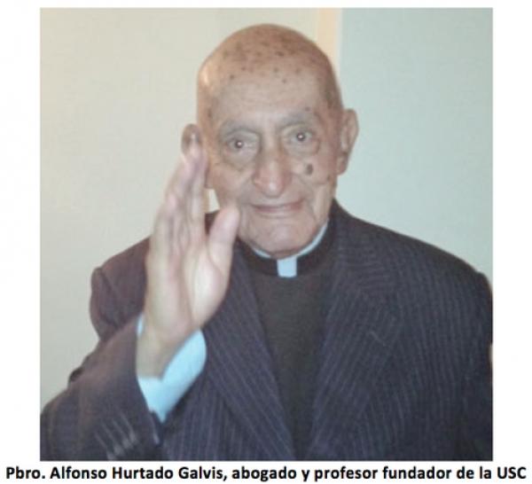 "Adiós al ""Santo Varón"", profesor fundador de la USC"