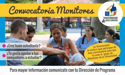 CONVOCATORIA MONITORES