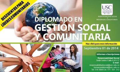 DIPLOMADO GESTIÓN SOCIAL Y COMUNITARIA