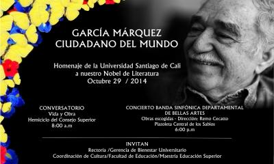 GARCÍA MARQUEZ CIUDADANO DEL MUNDO