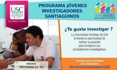 JÓVENES INVESTIGADORES DE LA USC 2015