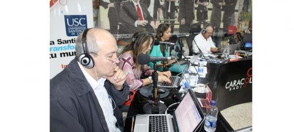 """Desde la USC en vivo el programa """"Hoy por Hoy 6 AM"""" de Caracol radio"""