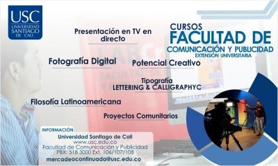 CURSOS FACULTAD DE COMUNICACIÓN Y PUBLICIDAD
