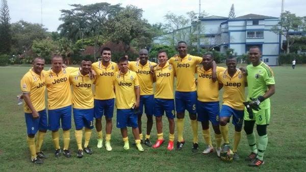 Ex -Futbolistas  de la Selección Colombia en la USC