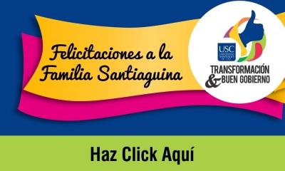 FELICITACIONES A LA FAMILIA SANTIAGUINA