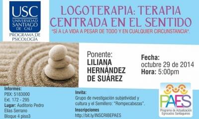 LOGOTERAPIA CENTRADA EN EL SENTIDO